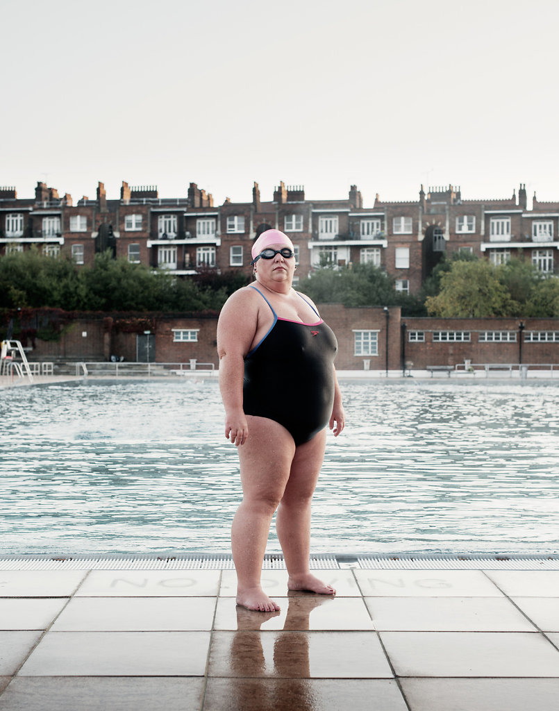 Sally Goble, Channel Swimmer, Parliament Hill Lido #1
