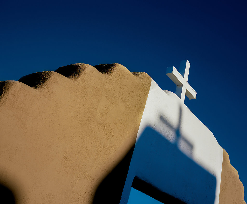 Church, Taos, New Mexico