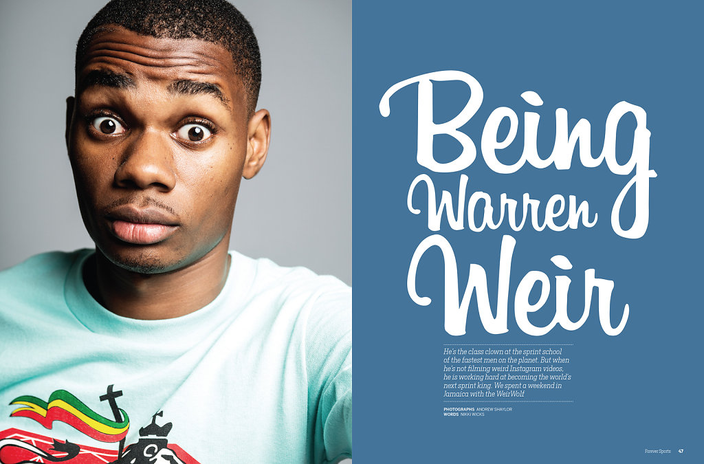 Warren Weir for Forever Sports