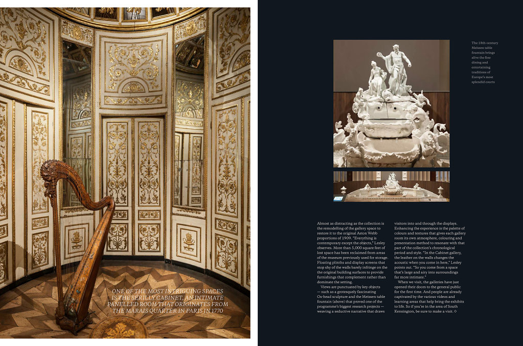 The Europe 1600-1815 Rooms for Berkeley Magazine #4