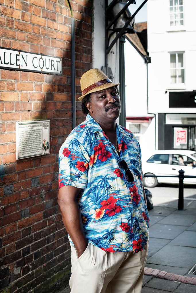 Michael George Hibbert aka Troy-Michael Foster photographed at Allen Court